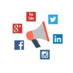 social media na stronie www